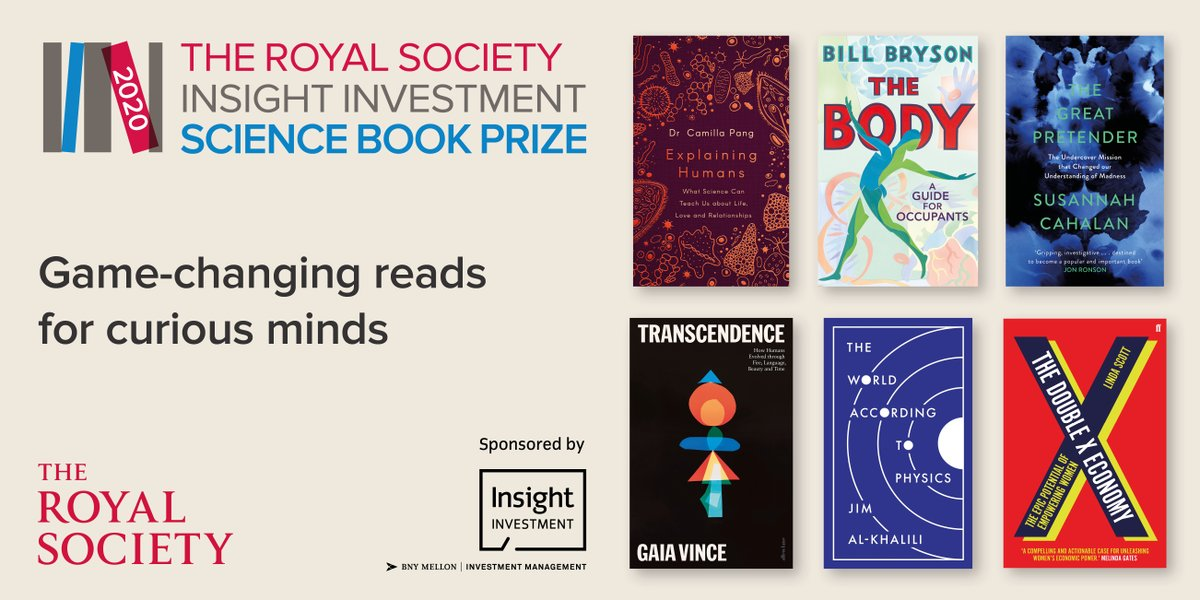 @InsightInvestIM @millzymai @VikingBooksUK @DoubledayUK @TransworldBooks @scahalan @canongatebooks @WanderingGaia @PenguinUKBooks @AllenLaneBooks @ProfLindaScott @FaberBooks @jimalkhalili @PrincetonUPress Have you read any of the books on this year's shortlist? Let us know your favourites! You can find out more about the #SciBooks shortlist here: https://t.co/7rfRuG16n2 https://t.co/gT3fhcb02j