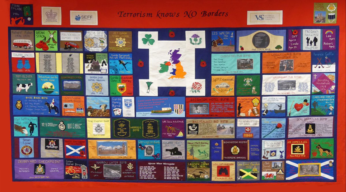 .   Robert Leslie Simmonds, 34  Christopher Robert Nolan, 21 The victims are remembered on SEFF's Memorial Quilt; Terrorism knows NO Borders.  SEFF's thoughts & prayers are with the families of those murdered & all others physically & psychologically injured. https://t.co/oOhHKNDIah