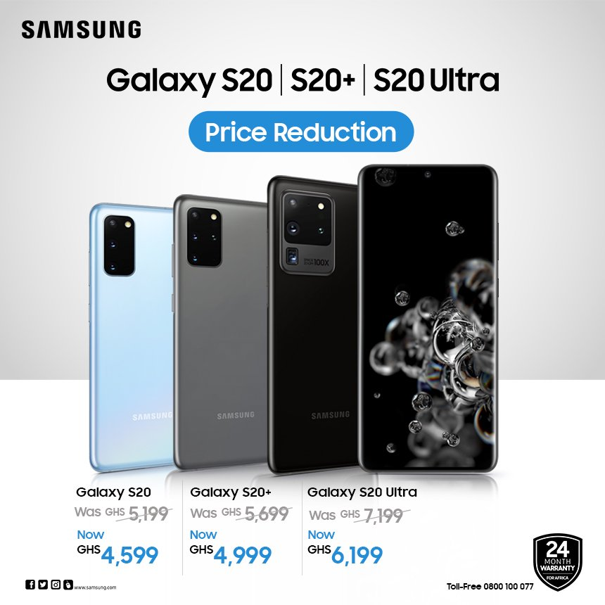 Enjoy the Galaxy S20 with the revolutionary camera at a more affordable price. Available in all authorised stores nationwide. https://t.co/uMNcX5yWQL