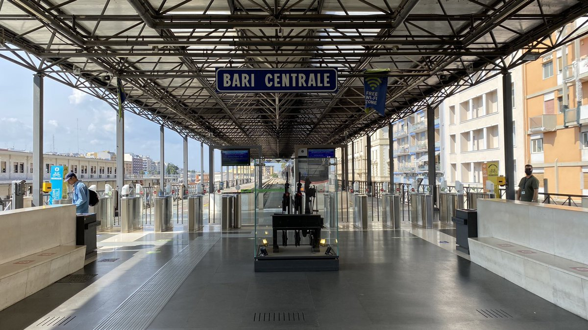The 11.31 Ferrovie Appulo Lucana Bari to Matera train.... my #allthelineseurope ride 😝  #railway #train #railways #trains #rail #trainspotting #railroad  #railfans  #railwayphotography  #trainspotter #travel #eisenbahn  #railfan  #trainstagram #railwaystation #zug #trenes #bahn https://t.co/9sYQ7WznlO