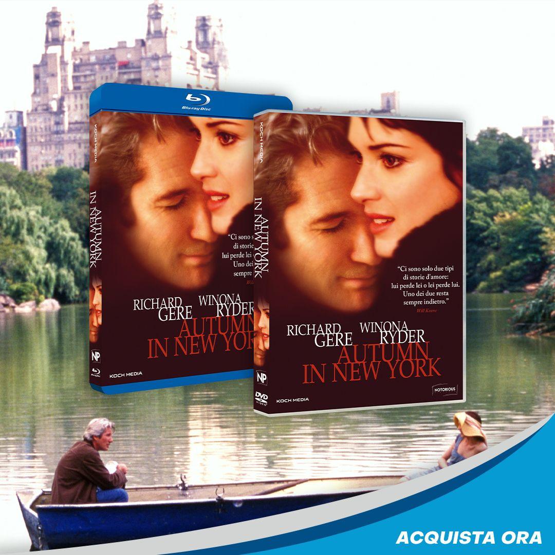 Esiste luogo più evocativo di Central Park per ammirare l'arrivo dell'autunno? Con Richard Gere e Winona Ryder, la struggente storia che ci farà riscoprire il vero significato dell'amore. #AutumnInNewYork in DVD e Blu-ray. Acquista ora su @amazon #DVDstore @IBS_it @LaFeltrinelli. https://t.co/IBE3LKftPg