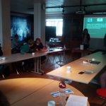 Image for the Tweet beginning: Workshop l'Ormeau Européen dans un