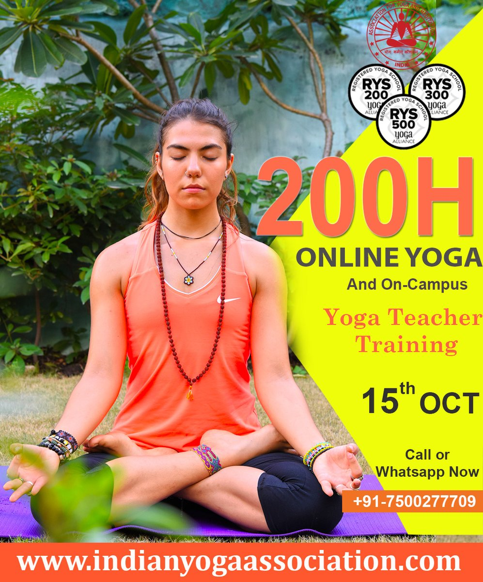 Online and On-Campus Yoga Training New Batch will start on 15th October 2020.  Looking for yoga training Call or WhatsApp us - +91 - 7500277709 #yoga #onlineyoga #yogatraining #oncampus #yogattc #yogateacher #yogaforall #bestyogaschool #rishikesh #india #aymyogaschool https://t.co/YZzlDDkcWS