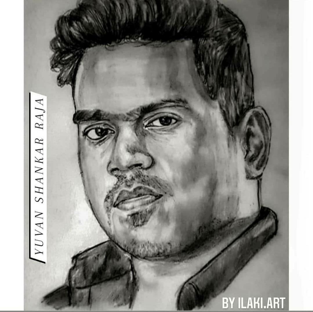 Tha pic Drawing @Ilaks18  Musical King @thisisysr Anna 💖  #YuvanShankarRaja #YoungMaestro_U1 #LittleMaestro_YSR #RockStar #YouthIcon_U1 #U1_Anna #LuckyStarU1 #Kalaimamani_U1 #mUs1c #BGM_KING #Yuvanism #டீம்யுவன் https://t.co/X2Gg5MBDwF