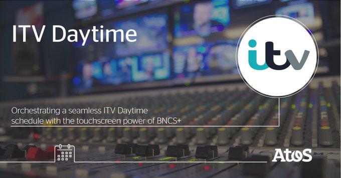 . @ITV Daytime s'appuie sur notre solution #media BCNS+ pour ses diffusions en direct...