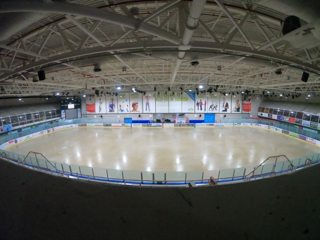 Coming soon! ⛸️ Look at what The Link has been up to; here's our before and after!  Keep an eye on here for further updates this week! https://t.co/SH89LnDiu5