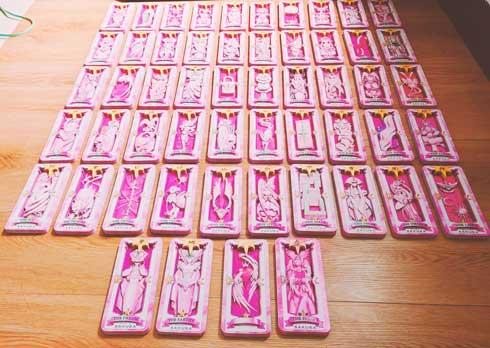 すごすぎ!カードキャプターさくらの「さくらカード」54枚すべて立体化! 海外ファンによるファンアートがステキ  @itm_nlabより