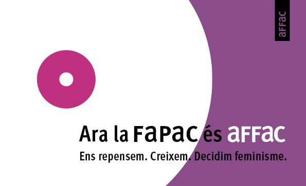 Anunciem un canvi històric!!!   Ara la @FaPaCcat és aFFaC, Associacions Federades de Famílies d'Alumnes de Catalunya.   Un nou acrònim que és coherent amb l'educació feminista que tan defensem els darrers anys💜   #ARAsomAFFAC #DecidimFeminisme https://t.co/D46kVnnmu7