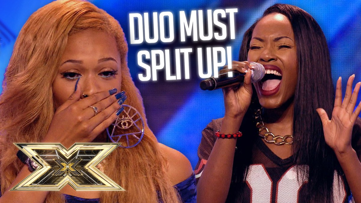 OMG! Two friends go thier seperate ways in ROLLERCOASTER auditions! 💔  But, performances full of nerves, big vocals and even forgotten lyrics... did our #XFactor judges make the right choice? 😬🙈  >>> https://t.co/lmf9I6ztAn https://t.co/eaQGSPLx3P