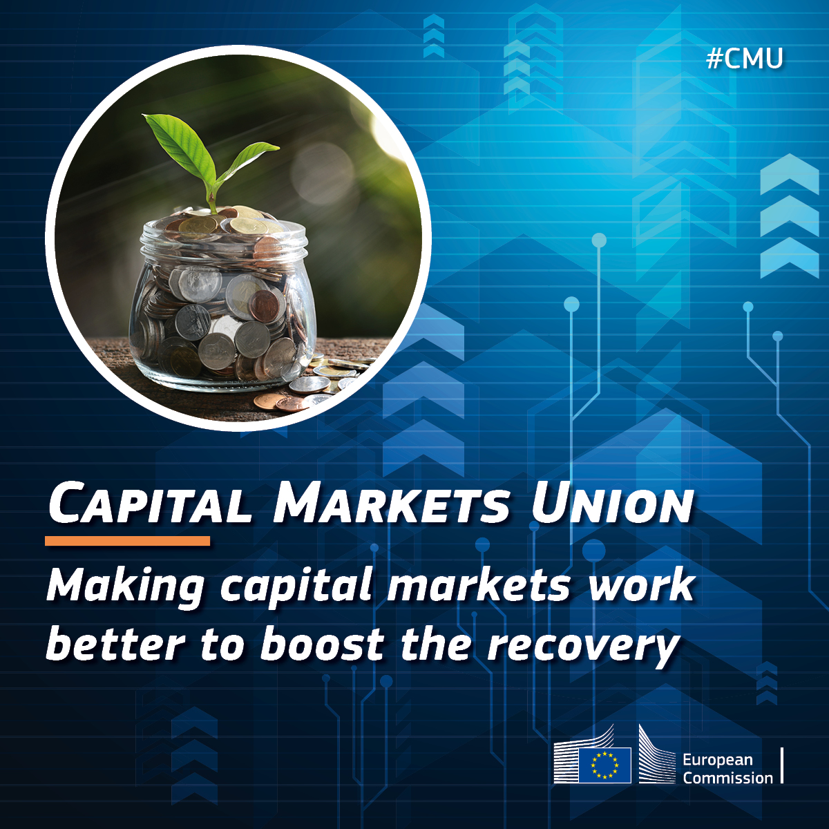 What's next for the Capital Markets Union? Find out this Thursday 24th! #CMU #NextGenerationEU