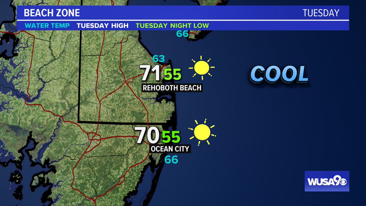 Here is your zone forecast. A bit chilly at the Shore but gorgeous. @RehobothPd @OCPDMDinfo @wusa9 @greatdaywash @HBWX @miriweather @chesterlampkin #WFH #wusa9weather #weather #DC #dcwx #vawx #mdwx #GetUpDC https://t.co/22dBSKhDf4 https://t.co/R647tpYAEh