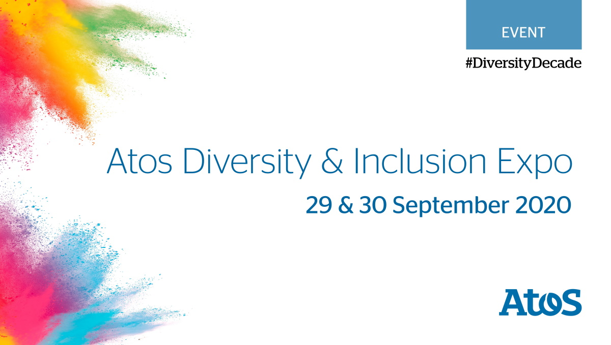 One week to go!   Don't forget to register for the Atos #Diversity & #Inclusion Expo 2020: https://t.co/NRIgkoM47o  Held online and free to attend, we're so excited to welcome a diverse range of speakers & key experts this year - you won't want to miss out #DiversityDecade https://t.co/Mzab8HPPQj