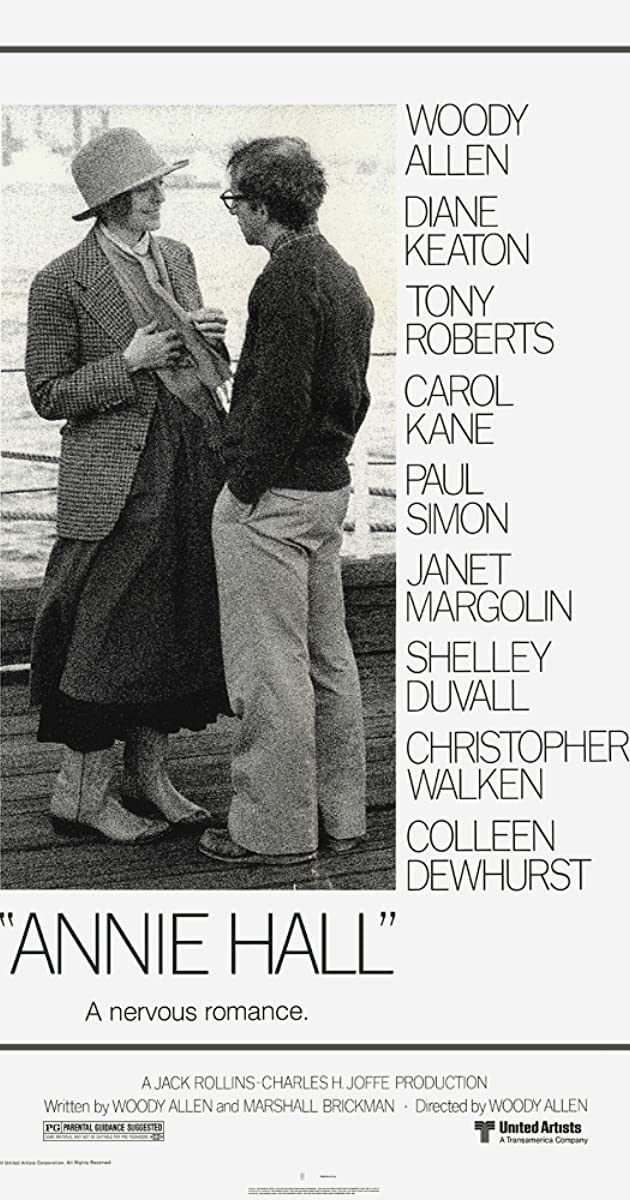 Continuing the #AFI100 with a film that helped the pivot toward female-led reconciliation stories, a rarely told story that we do tell on the pod, this is #anniehall  Pod: https://t.co/INYgs6DKXM Site: https://t.co/f54SlyuBs6  #filmtwitter https://t.co/uYVqv28rEf