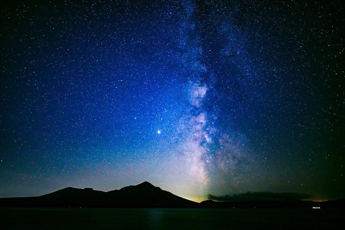 #四連休を写真4枚で振り返る  北海道で星見て、海見て、山見て、美味しいもの食べて、大自然を満喫した最高の4日間でした( ´ ▽ ` ) https://t.co/FhoYAafBXC