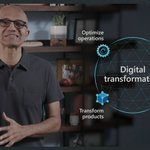 Image for the Tweet beginning: #msignite solid kickoff by @satyanadella