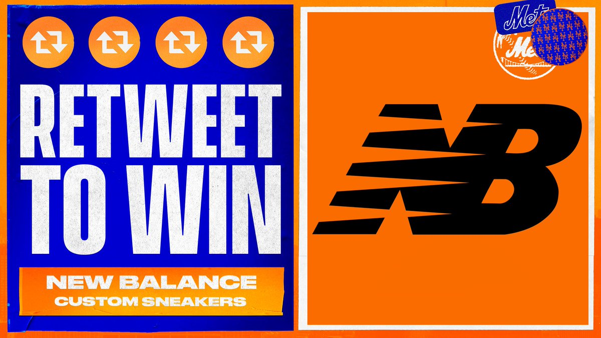 Score a free custom pair of @newbalance sneakers. 👟 #THXMetsFans   For every 1,000 RT this gets we'll give away a pair. #LGM #WeGotNow https://t.co/ziOR1VN7cI