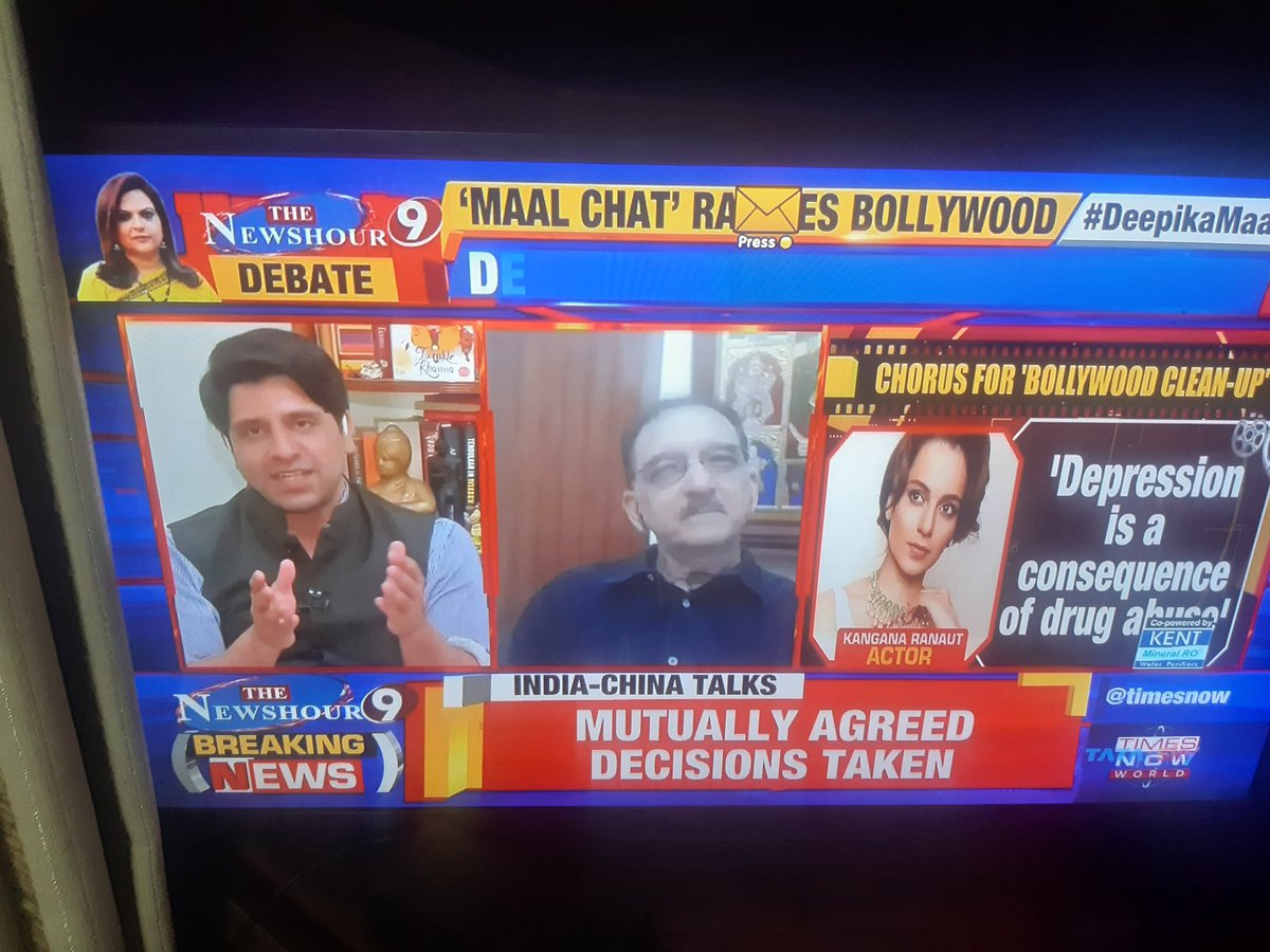 #DeepikaMaalChats @Shehzad_Ind @navikakumar Good to see that you raised points which need to be answered by Dr Sumanti is clueless to answer. Deepika name is appearing and that is putting pressure on these gang to hide? When today YOUTH are going into drug will they defend.Shame