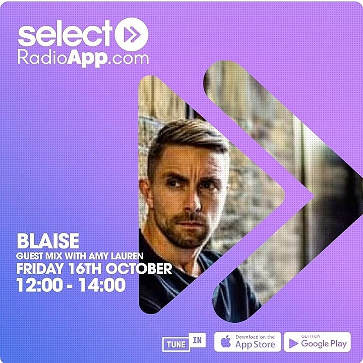 On the 16th October you can catch my guest mix on @SelectRadioApp on my girls @djamylauren show ❤️ 🙌🏻🎶 https://t.co/8FDR2Fxl9y