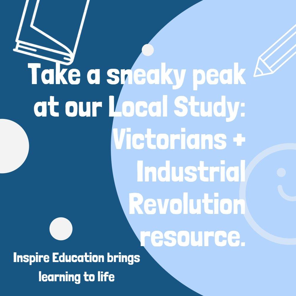 Take a sneaky peak at our Local Study - Victorians and Industrial Revolution scene! #edtech #edchat #teaching #edtechchat #nqt #edutwitter #teachertwitter #classroom #edapp #sltchat #thursdaythoughts https://t.co/ciMETdHjNr