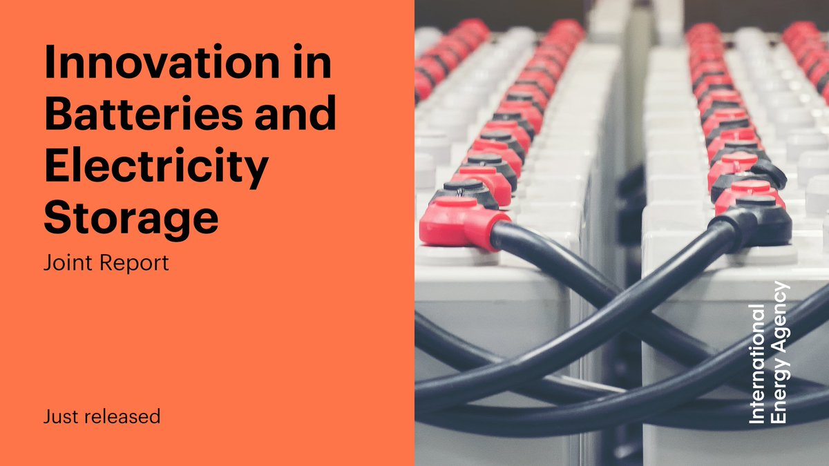 Accelerated innovation in energy storage will be essential to meet international climate & sustainable energy goals.   Our joint report with @EPOorg sheds new light on battery innovation trends to help guide policy making for a sustainable energy future → https://t.co/aJ2LBruXAK https://t.co/FmxwdLX3yK