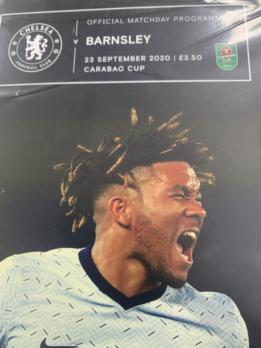 Calling all @ChelseaFC and @BarnsleyFC supporters! Although we can't help you get to the @Carabao_Cup match tomorrow, we can get you the matchday programme. RETWEET, LIKE and FOLLOW this, and we'll pick a random winner and send it over to you! #barnsleyfc #chelsea #Giveaway https://t.co/vOEL8HM8LP