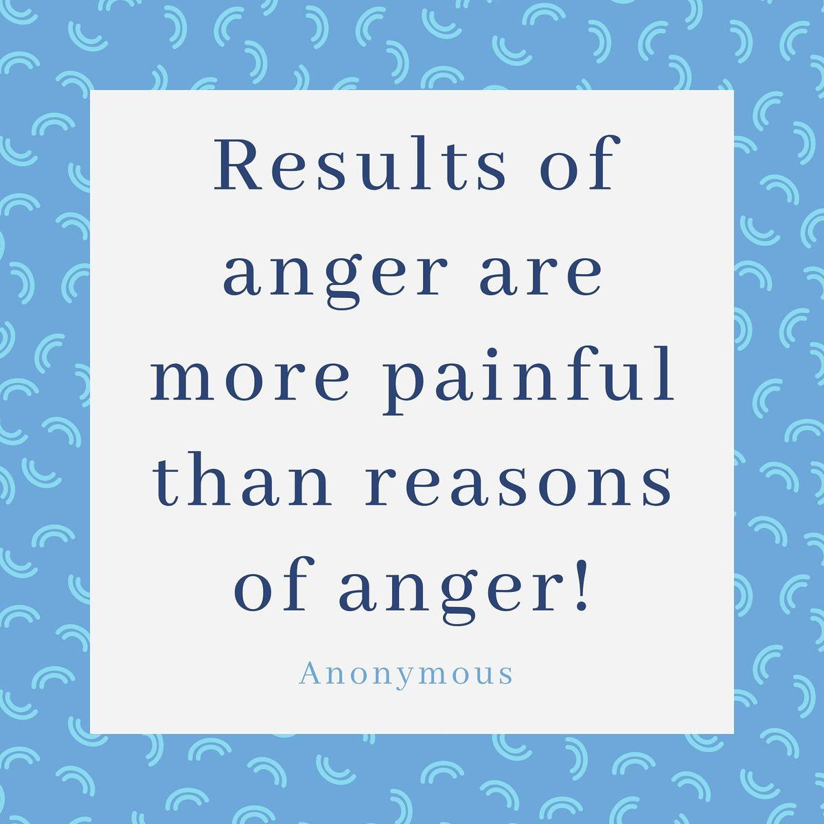Learn to see the repercussions of anger which are more than the moment of anger  Learn to manage anger and get inner peace irrespective of the circumstances in life..   Want to know how? Ask me..  . . . . #positiveoutlook #positivity  #motivation #lifequotes #lifecoach https://t.co/fbQAkqmt3Z