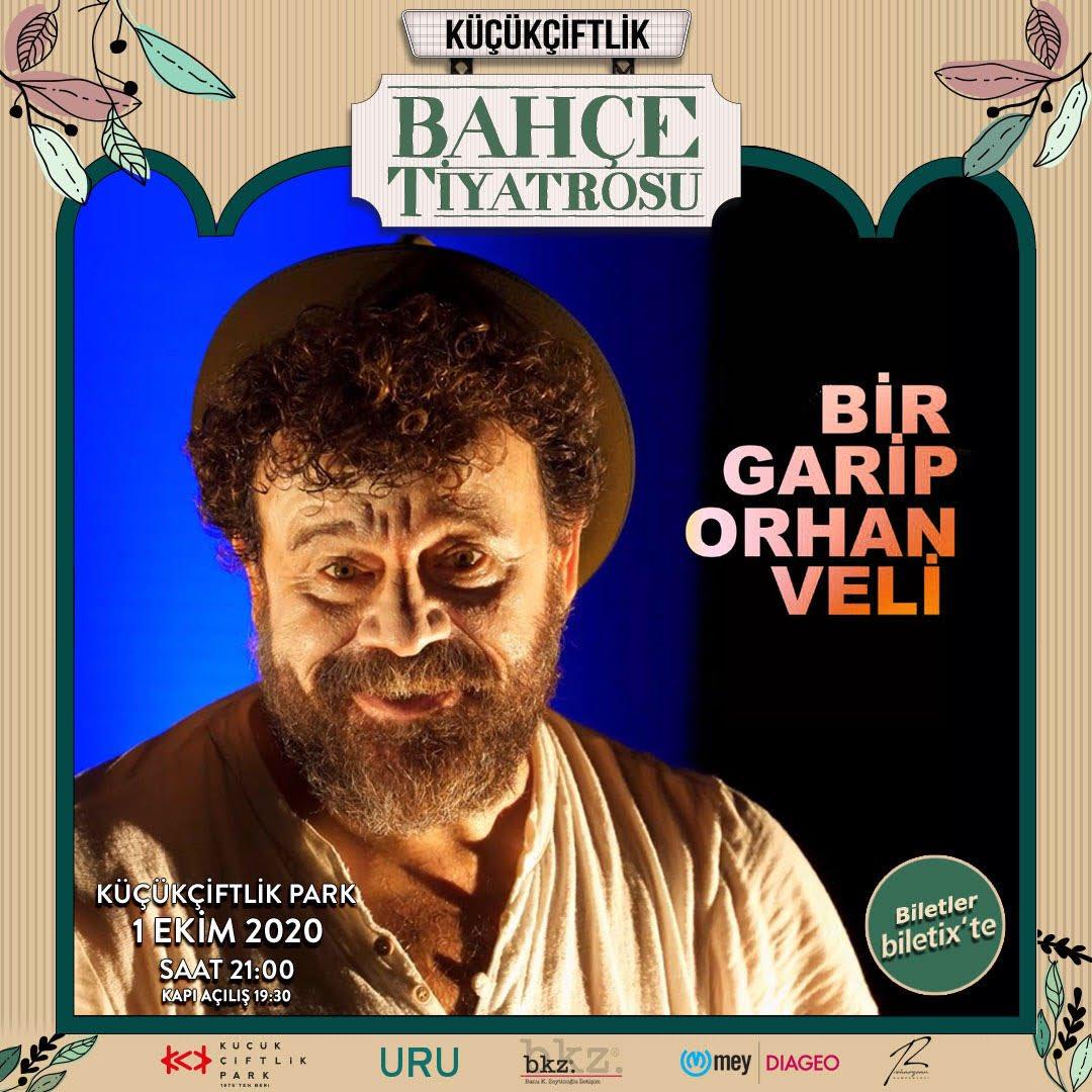 Bir Garip Orhan Veli, 1 Ekim'de KüçükÇiftlik Bahçe Tiyatrosu'nda! Sosyal mesafeli online biletin Biletix'te! https://t.co/FixoQrbQ5d #küçükçiftlikpark #küçükçiftlikbahçe #küçükçiftlikbahçetiyatrosu #tiyatroiyidir #bkziletisim #rehaozcankumpanyasi #birgariporhanveli #yaşamıkutla https://t.co/DPhQzwpCP0