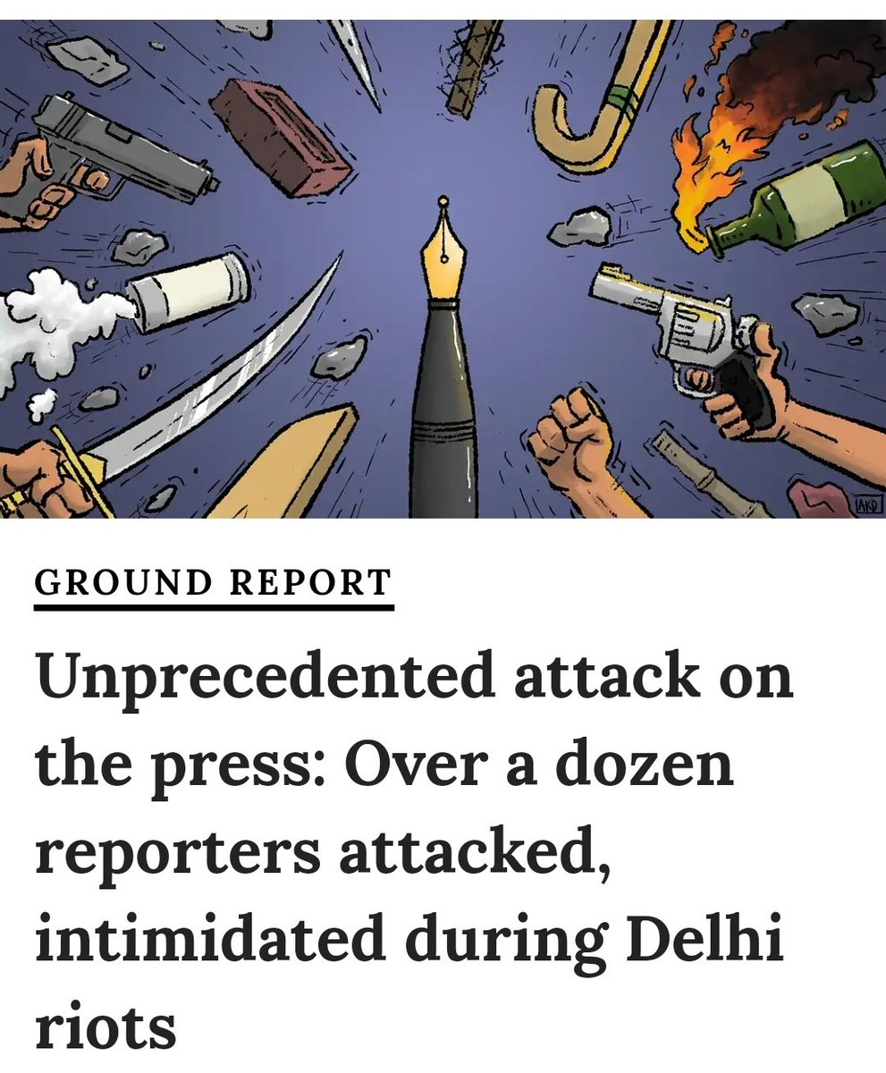Hi @SudarshanNewsTV, You are now plagiarizing artwork from @newslaundry, who has been calling you out for hatemongering, to make posters asking for support? That too from a report on Delhi riots? How very ironic.