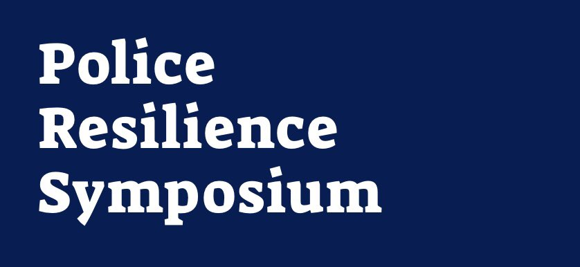 Learn and get inspired by the 3-day Police Resilience Symposium! Police leaders & experts from around the globe will be sharing practical mental health and resilience practices that you can use today. #PoliceResilience  Anyone can join in virtually ⬇️ https://t.co/cjQMXGc3DZ https://t.co/DuiYDLAFgJ