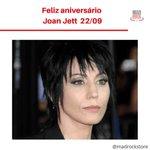 Image for the Tweet beginning: Feliz aniversário Joan Jett I Love