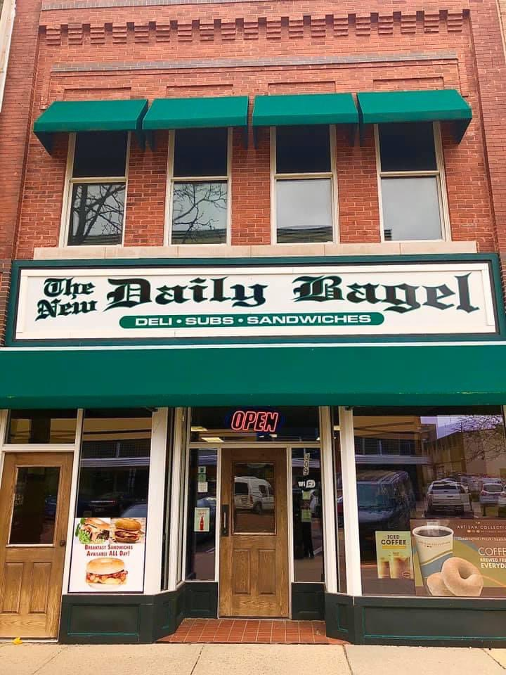 This is the place for bagels when downtown Lansing #Michigan  #Foodie