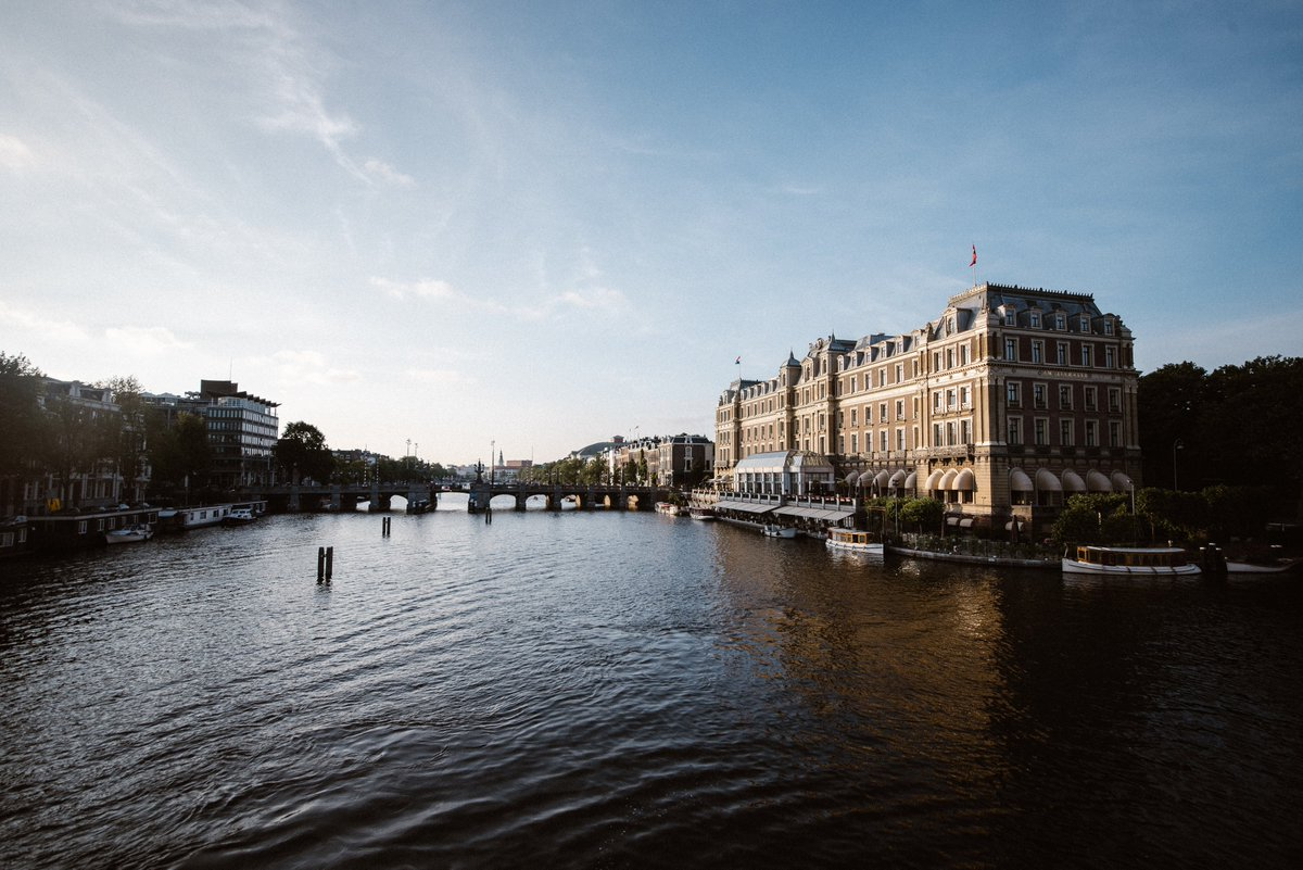 Located on the banks of the Amstel River, the Amstel Hotel offers a unique view in Amsterdam. Sit back, relax and admire the city from a different angle. https://t.co/GMKceCrQBE