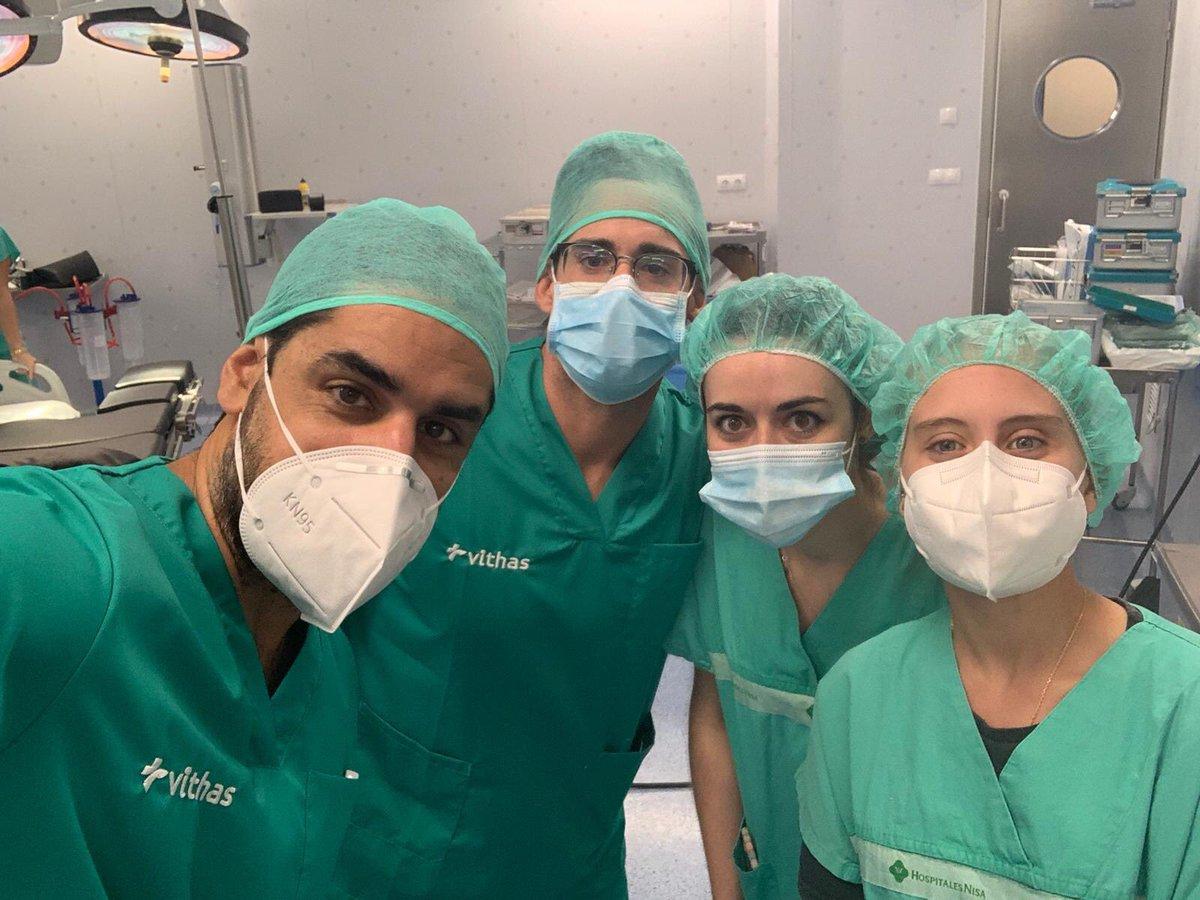 ¡Día de quirófano! Gracias por la experiencia 💯 @trauma_modern  . . . #sevilla #trauma #quirofano #hospitalnisa #castillejadelacuesta https://t.co/l2txwO2dmA