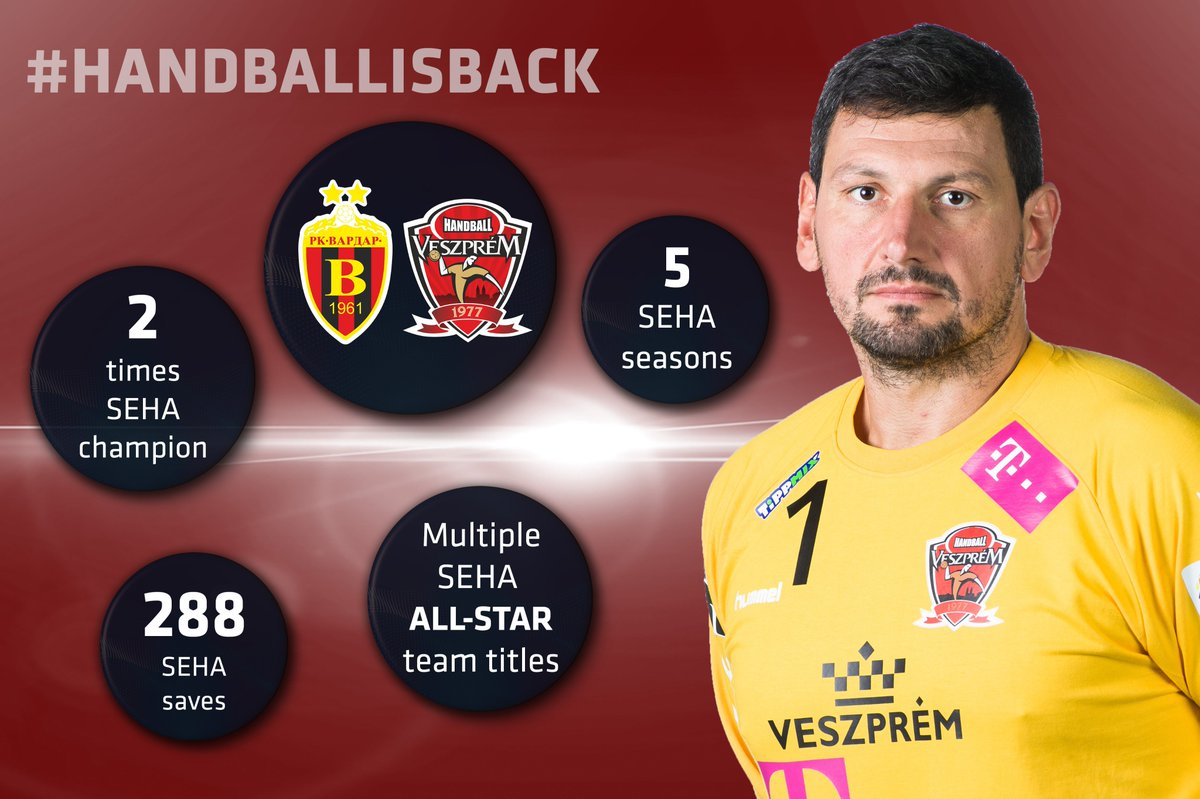 Grande Arpad ⭐️ one of the greatest goalies 🥅 of all time decided to call it career during the summer to end his remarkable handball 🤾♂️ journey! And this is his #SEHA journey ✈️  #HANDBALLISBACK #SEHALeague #Gazprom https://t.co/yD2vnMCVCF