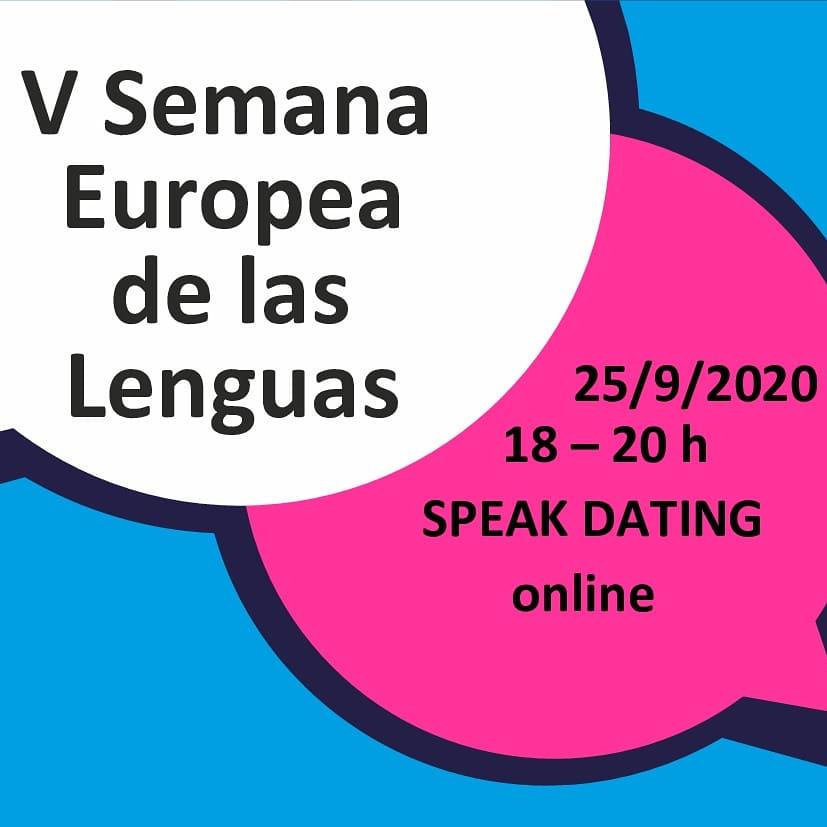 🇪🇺🇮🇹25 DE SEPTIEMBRE, DE 18 A 20 HORAS no te pierdas el SPEAK DATING, organizado por @EunicSpain el marco de la V edición de la Semana Europea de las Lenguas. 🖊Formulario de inscripción #italiano:https://t.co/52Dxj05Qf3 ❗Non mancare! 😎 + Info: https://t.co/r1N8o0fF0j https://t.co/5QH863p4wF