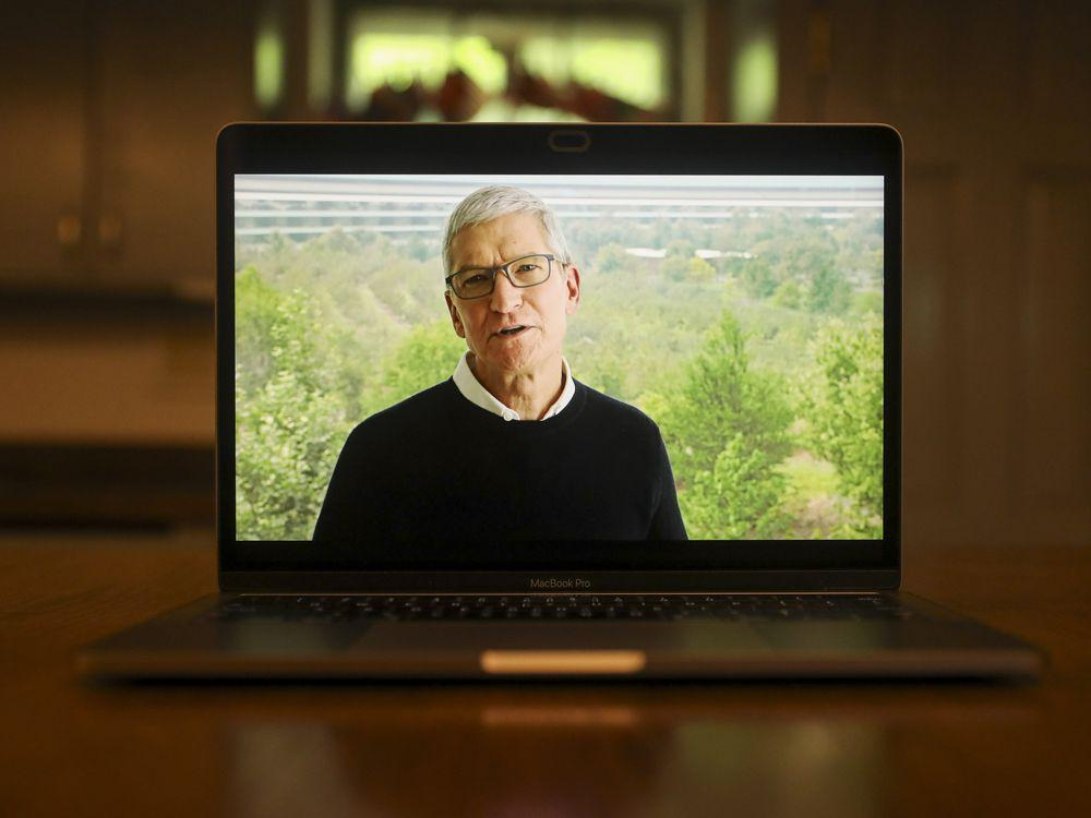 Apple CEO Tim Cook says he's been impressed with remote work, sees permanent changes
