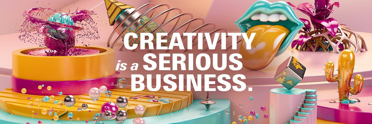 Image for the Tweet beginning: Creativeworld 2021 wird einmalig digital