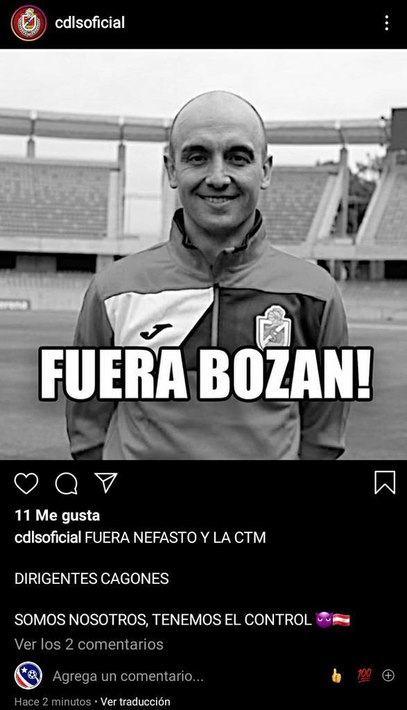 Le acaban de hackear la cuenta de Instagram de Deportes La Serena 😅 https://t.co/lZ78fxJcXI