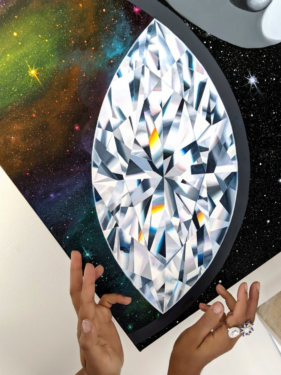 Let's strive to REACH our higher selves. Be the light we are reaching for. Then reach out to others & share some of that light. As we get, let's give.   https://t.co/TBuDi3QB0E #ThirdEyeDiamondPainting#ThirdEye #thirdeyeopen #Diamonds #Painting #MarquiseCut #GivingBack https://t.co/2fEtp73mHa