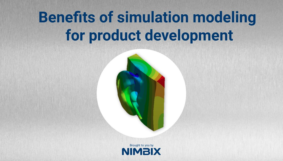Find out the benefits of #simulation modeling for product #development versus prototyping. Read the blog: https://t.co/OeeMbWvpT3 https://t.co/PStBPeGOBf