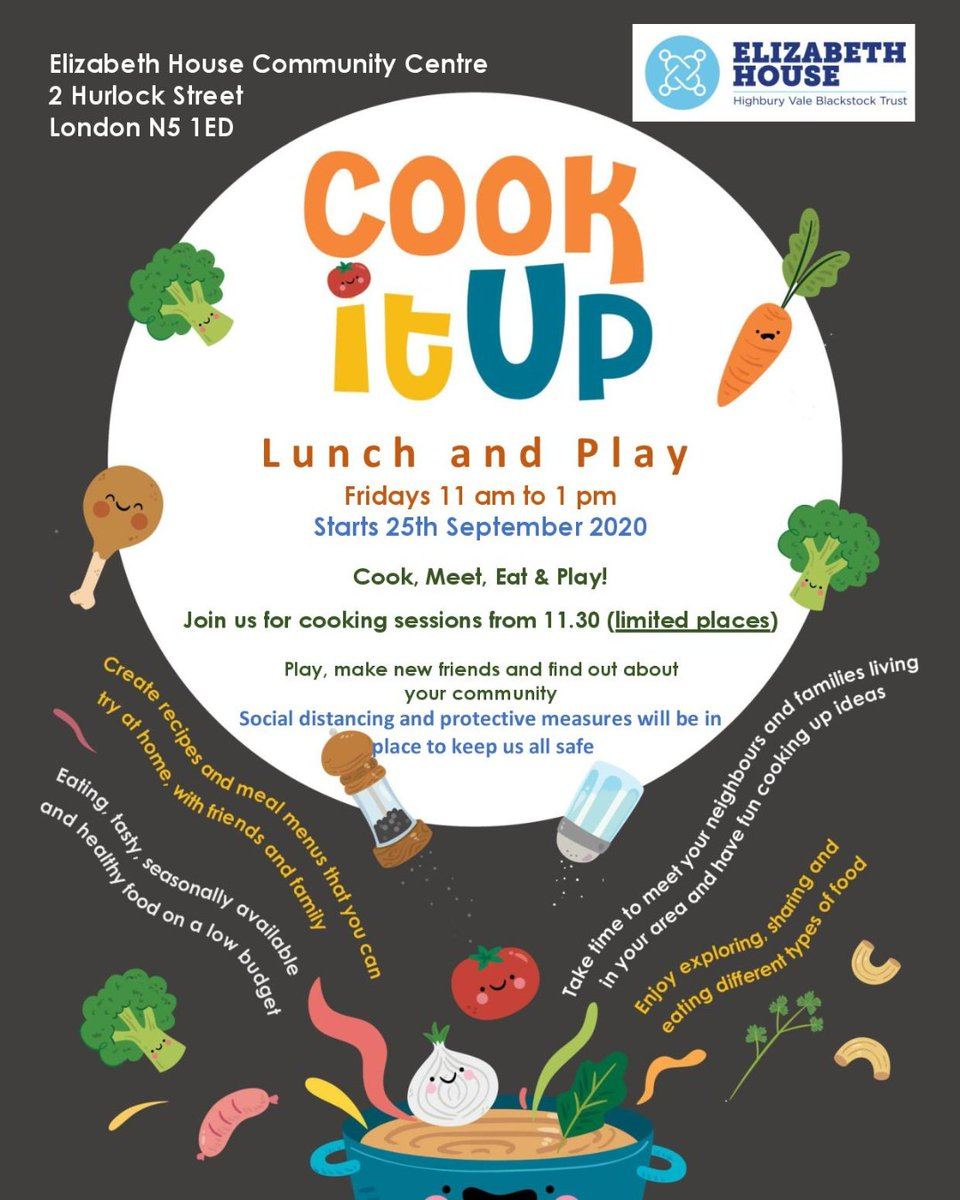 We are putting on our cooking aprons and waiting for you to come join us. Grab your toddlers and start learning about health eating. Stay and play - have a lovely wholesome lunch and enjoy the return of the 'Cook it Up' club @OctopusCN  #stayandplay #toddlers #healthyeating #food https://t.co/gqOnqB2D5Z