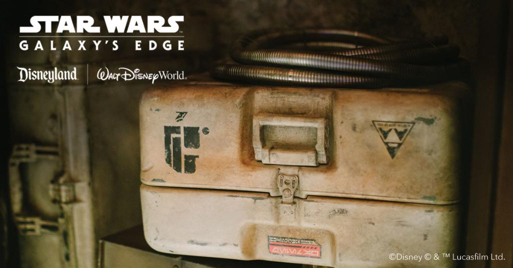 Be on the lookout for authentic items from Batuu, arriving soon to your galaxy. #StarWars #GalaxysEdge