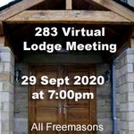 Image for the Tweet beginning: The next 283 Virtual Lodge