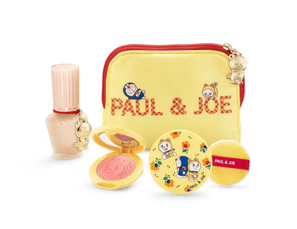「ポール & ジョー ボーテ」ドラえもんとドラミちゃんのクリスマスコフレ、ドラえもんの艶リップも -