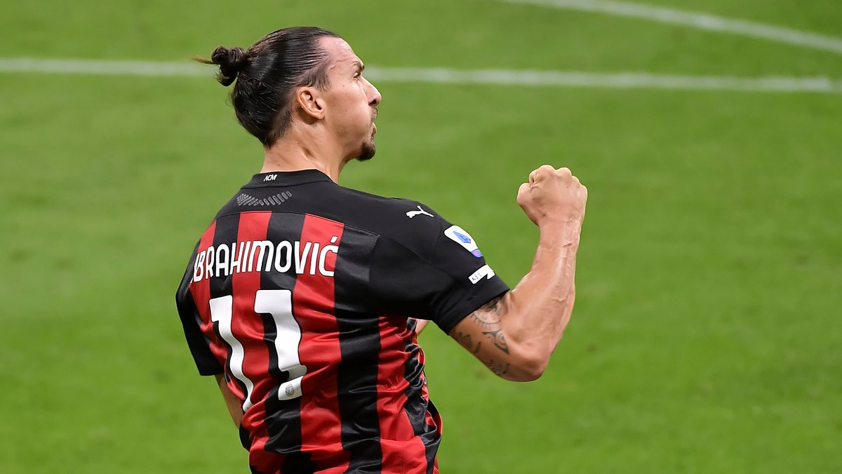 🔴⚫️ Zlatan Ibrahimović has now scored in 22 different top-flight seasons 🔥  #UEL https://t.co/xS1sH8r8Gg
