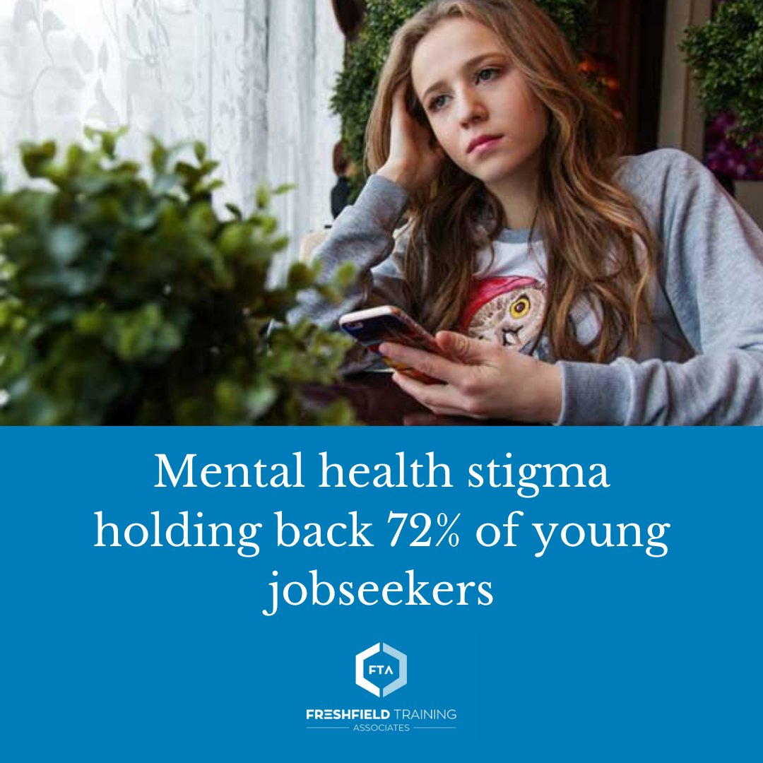 A City Mental Health Alliance (CMHA) survey has revealed that 72% of young job seekers think that talking to a prospective employer about a mental health issue would hurt their chances of getting the job.   Read more: https://t.co/icwGzZ8un7 https://t.co/izMDJUISuH