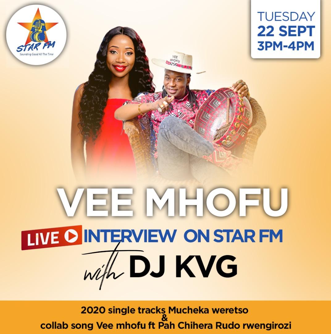 326 Express : Tuesday 22 September  Show Menu: 3:25pm : Mubvunzo Nhando 3:40pm - Telephonic call : Vee Mhofu 4pm - Family request show 5pm - Hot Topic 5:45pm - Express Quiz  Host: @kvgroyalty Producer: @TEAMRUFFY https://t.co/HmflUsPTkC