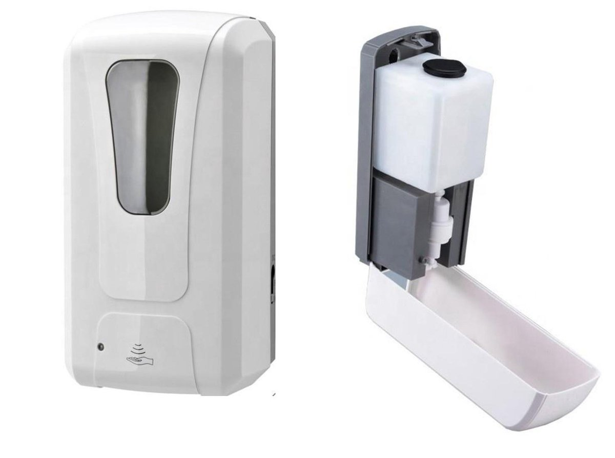 Setting up a hand cleaning station? We have infrared automatic soap dispensers (1 litre) in stock – they are battery operated & contactless. Call 01992 504463/5 https://t.co/3LczIEX1cS #staysafe #coronavirus #covid19 #printing #stationery #officesupplies #hygiene #handwashing https://t.co/p2VnD5V85L