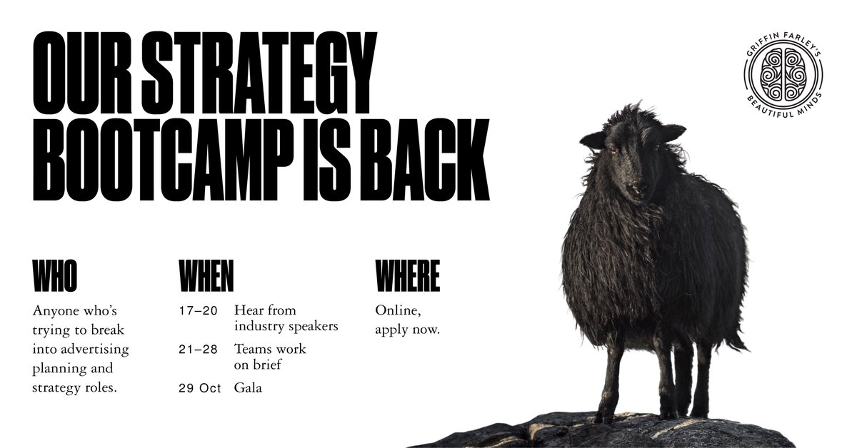Calling all US-based mavericks, visionaries, doers and dreamers. Our hybrid planning bootcamp and networking event is back.   But don't dawdle, the deadline for entries is Monday, 28 Sept.  Apply now: https://t.co/nWdJD2XP0m   R/T to spread the word. https://t.co/Iwdc5sjKID