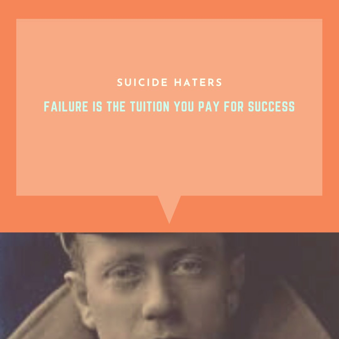 Failure just comes with life!  . . . #suicidehaters #depressionawareness #anxietyawareness #mentalhealthawareness #depression #anxiety #suicide #suicideawareness #motivationalquotes #motivation #quotes https://t.co/nhO23tOkpp